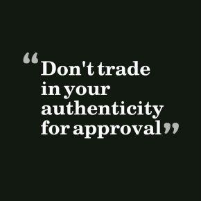 Authenticity & theMarket