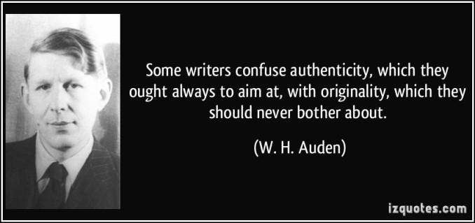 originality vs. authenticity