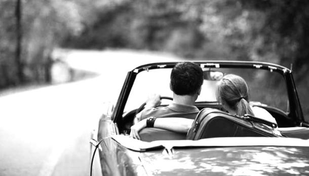 Vintage Car Couple